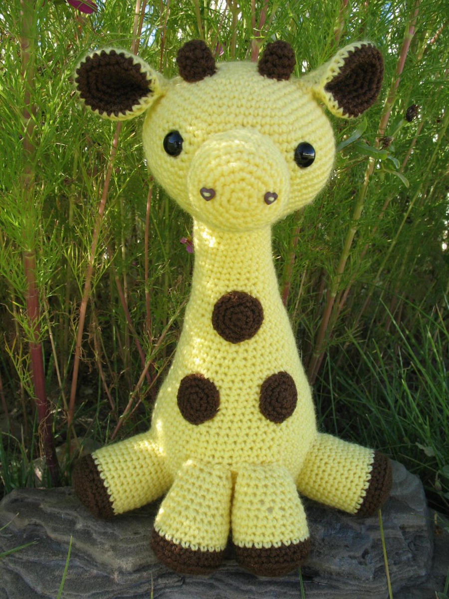 Amigurumi Hello Kitty Collection 1 : Amigurumi Giraffe by djonesgirlz on DeviantArt