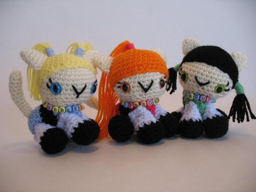Powerpuff Kitties by djonesgirlz
