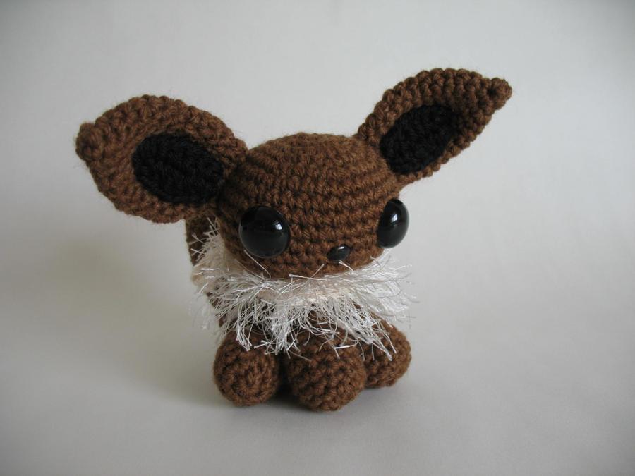 Amigurumi Pokemon Eevee : Amigurumi Eevee by djonesgirlz on DeviantArt
