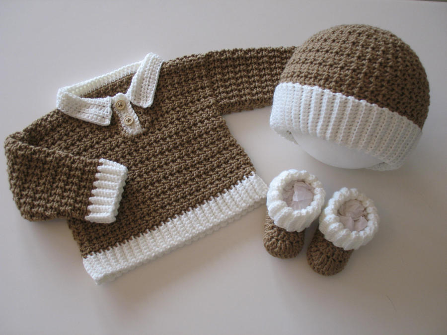 Gingerbread Layette by djonesgirlz
