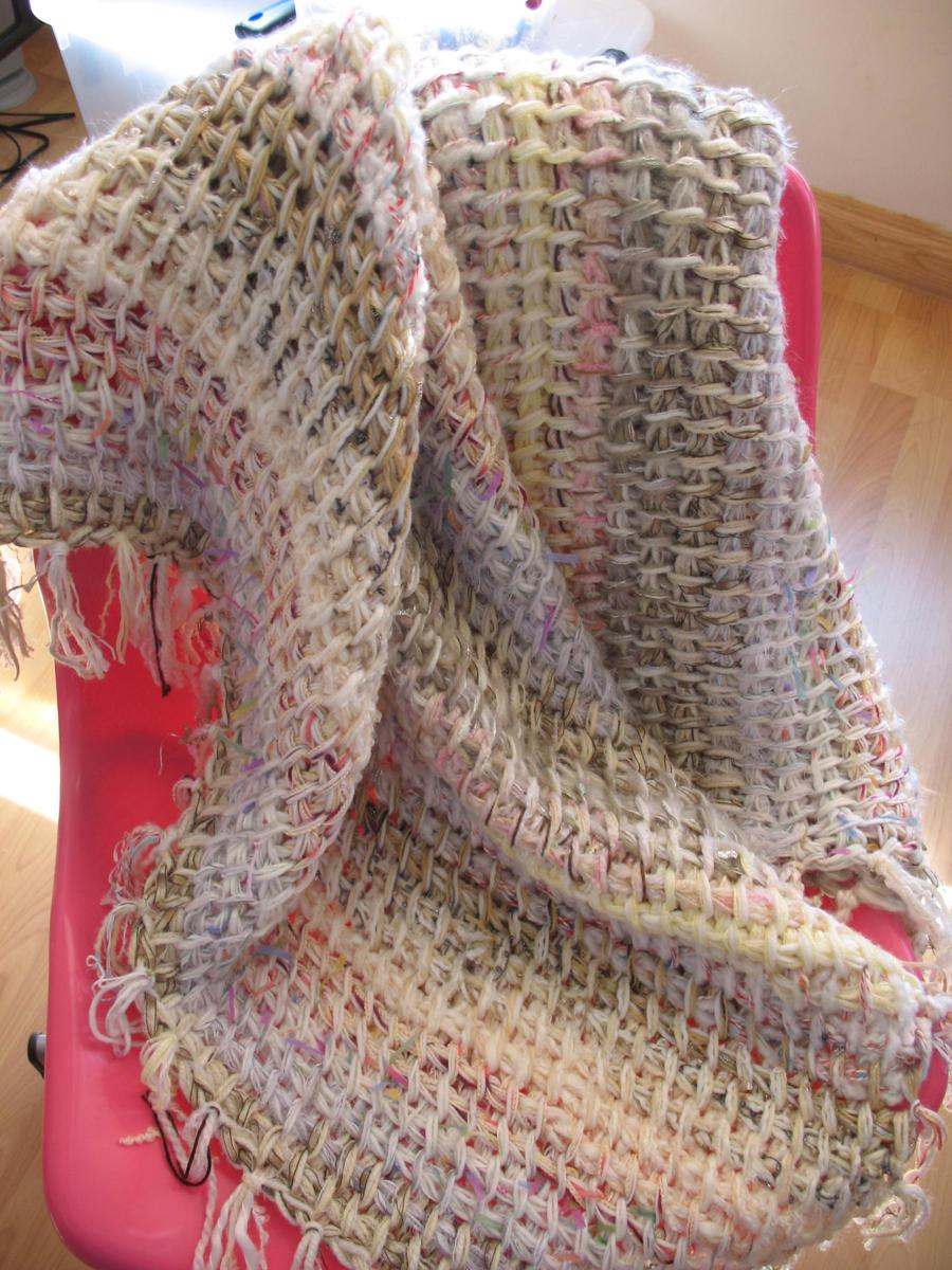 Tunisian Crochet Throw by djonesgirlz on DeviantArt