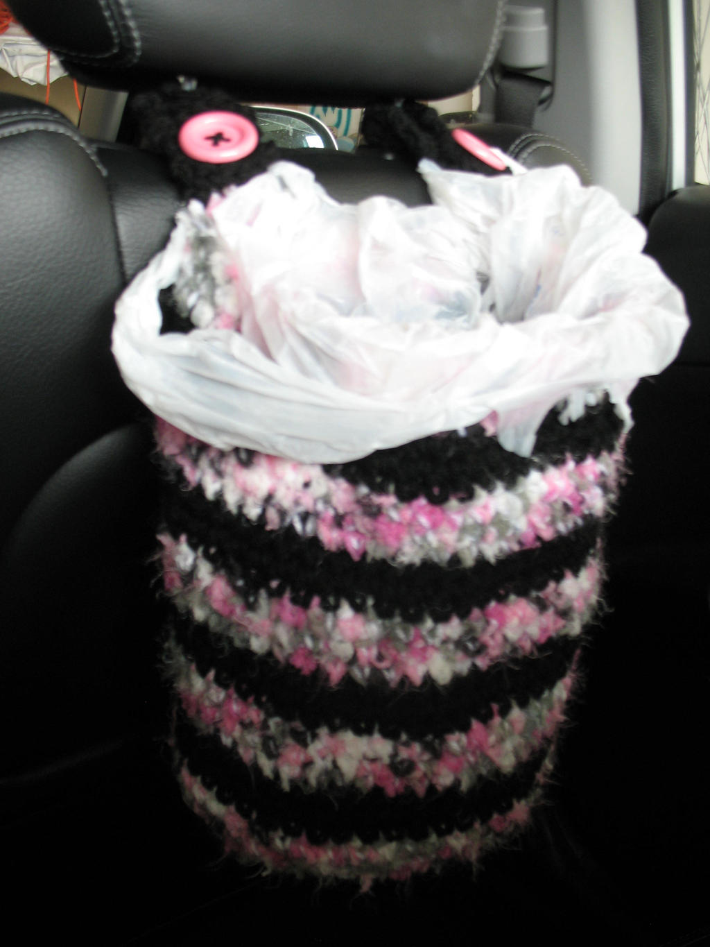 Car Garbage Bag Holder By Djonesgirlz