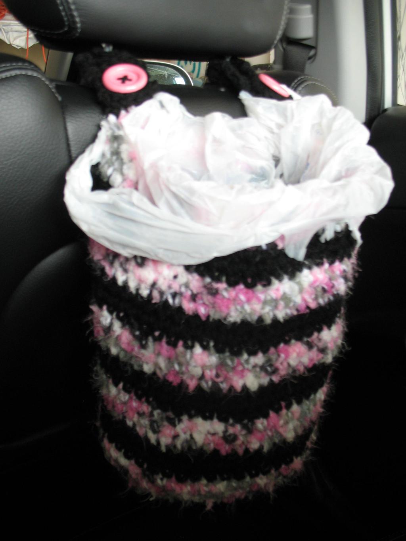 Car Garbage Bag Holder By Djonesgirlz