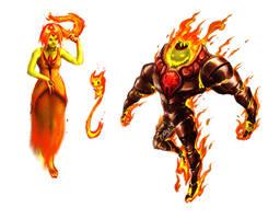 Flame Kingdom by GodOfNumbers