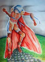 Random OC Watercolors by luliyoyo