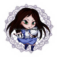 Alice Button by luliyoyo