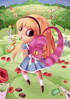 Alice in Wonderland by luliyoyo