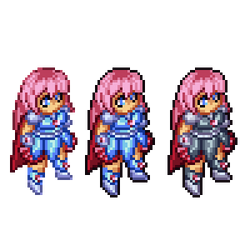 Isometric Sprite Sample by luliyoyo