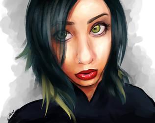 Portrait by luliyoyo