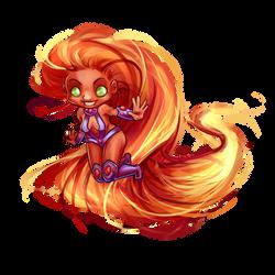 Yay! - Starfire by luliyoyo