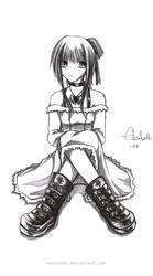 goth girl by Entennen
