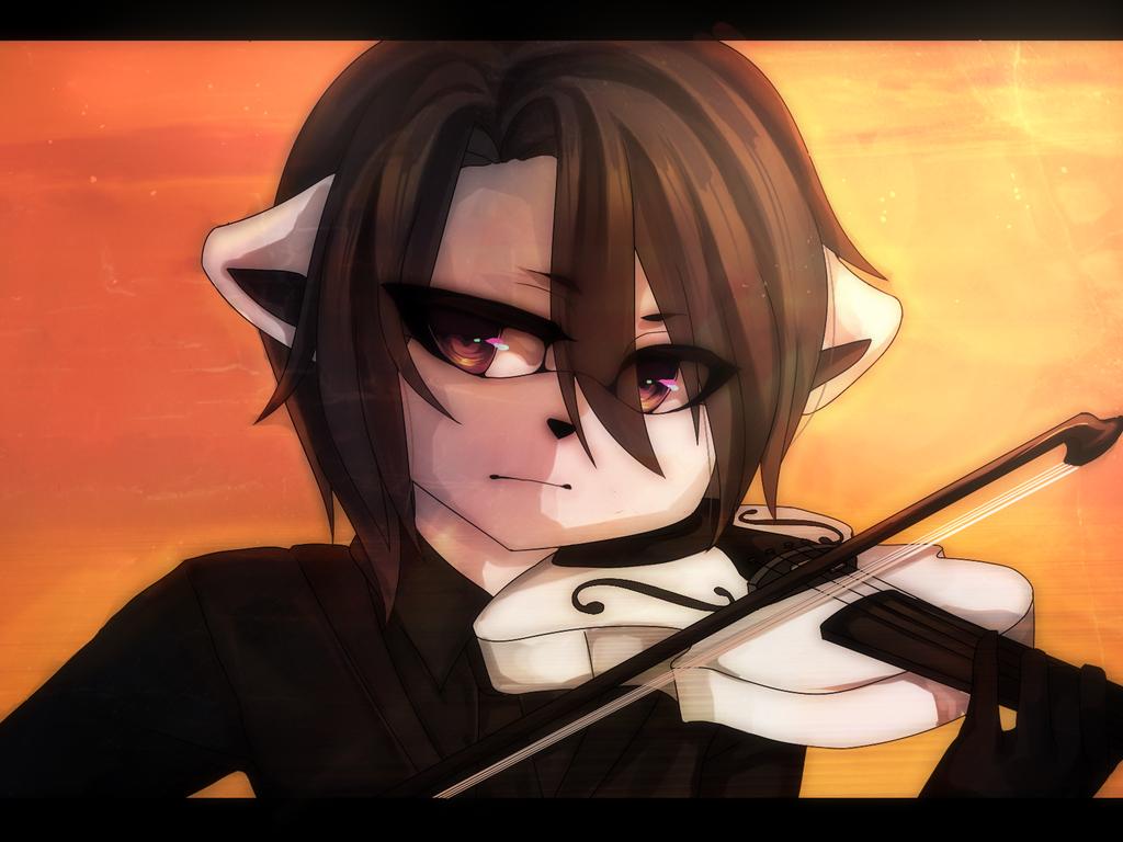 Violin by Yunii-sama