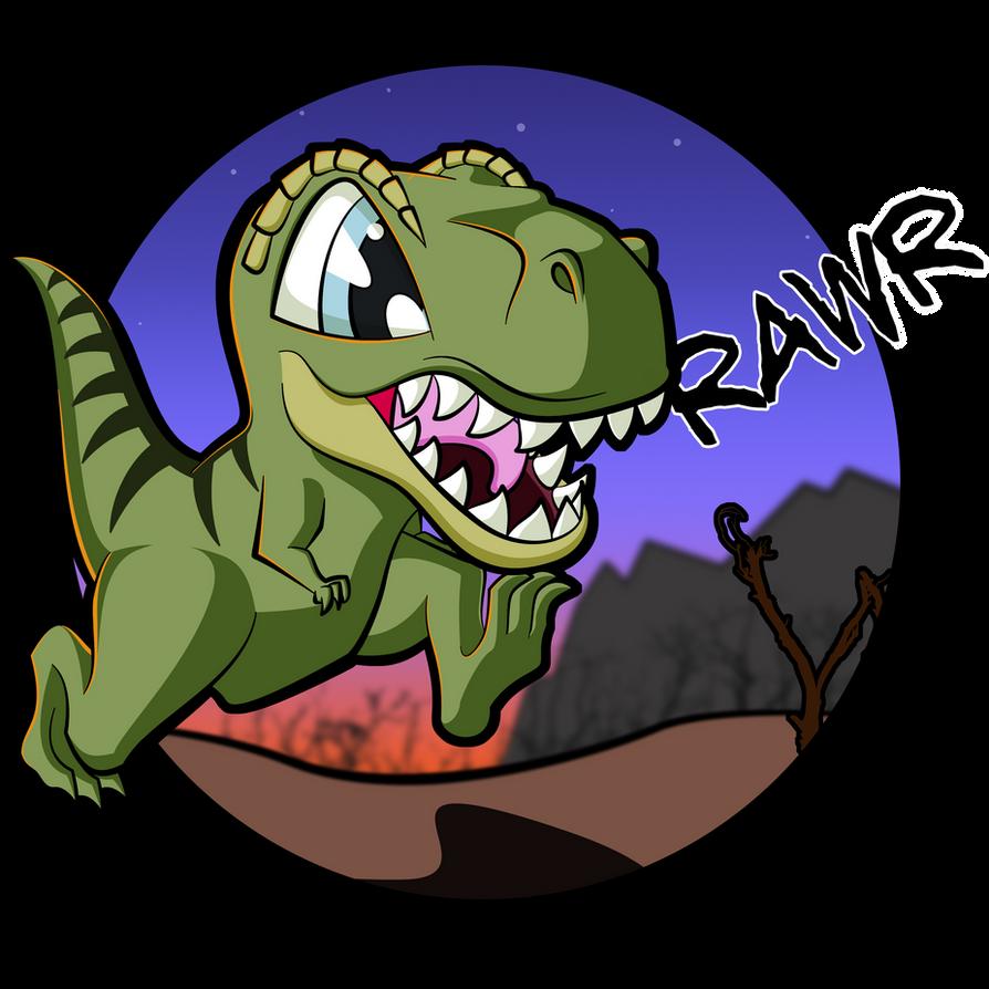 Chibi T-Rex by Maximoto on DeviantArt