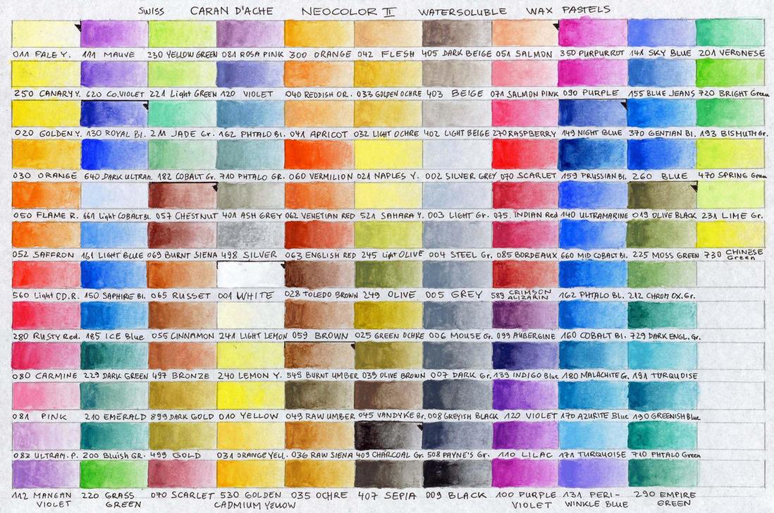 Neocolor ii color chart by pesim65 on deviantart neocolor ii color chart by pesim65 nvjuhfo Gallery