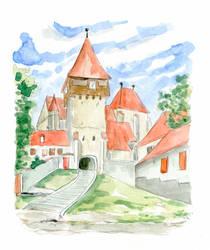 10 Kirchenburg