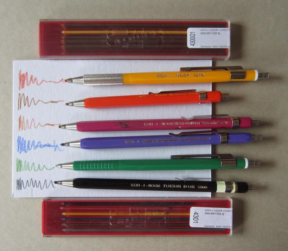 KOH I NOOR Mechanical Pencil 2,0 By Pesim65 ...