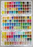 PRIMA Watercolor Chart