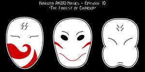 Naruto Ep67 - ANBU Masks by purpledragon42 on DeviantArt