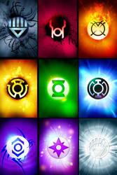 Lantern corps by mindfreak01