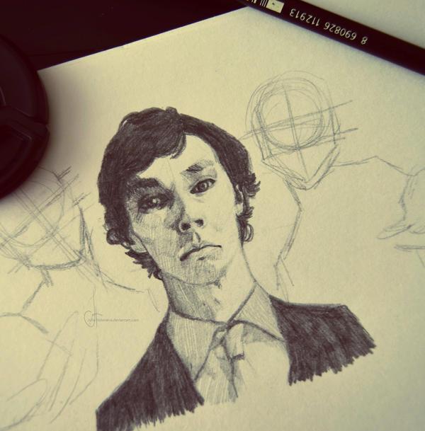 Sherlock by Julia-Kisteneva