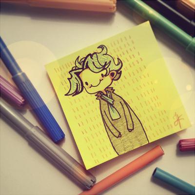 A little sketch by Julia-Kisteneva