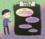 A-maze-ing Phil by Julia-Kisteneva