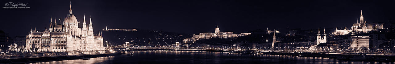 Budapest Gleaming by PetydeNecro