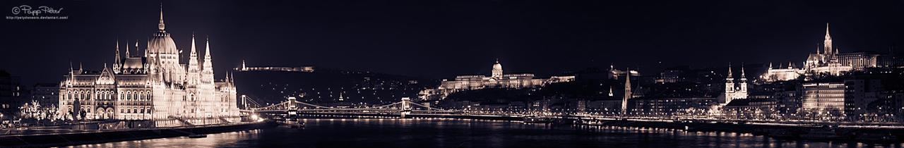 Budapest Gleaming by PetydeNecro