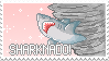 Sharknado stamp by Rainbow-Spurkles