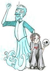 Hamlet: the original emo kid by sarixthelost