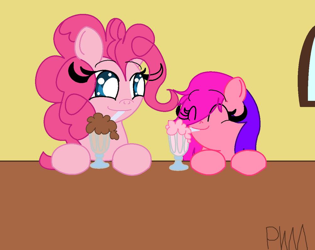 Mother And Daughter 2-Sweet Milkshakes by PokeWarriorMelodies