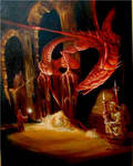 Smaug - from the Hobbit.