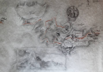 Curse of Strahd Players' Map by highlandheart1968
