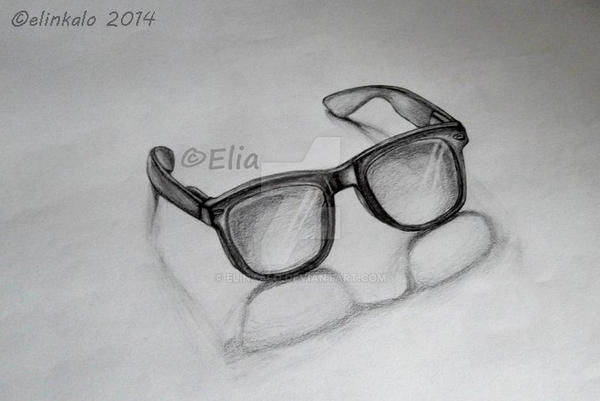 3D Sunglasses by elinkalo
