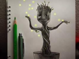 I Am Groot by elinkalo