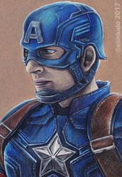 Captain America by elinkalo