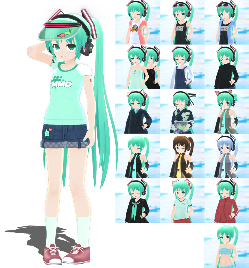.: DL Series :. PXCH Little Miku by Duekko