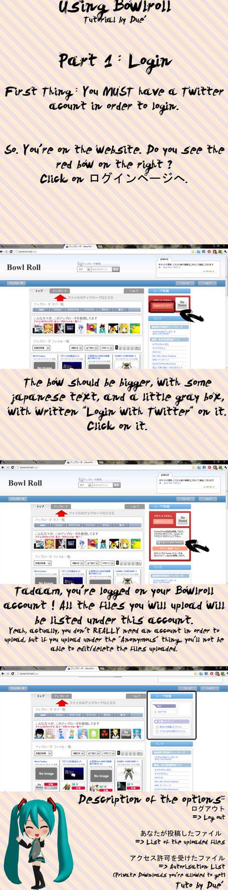 Using Bowlroll Login Tutorial By Duekko On Deviantart Submitted 1 year ago by sketiq. using bowlroll login tutorial by