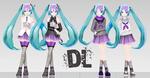 .: LAT Sweet Devil Style Hatsune Miku DL :.