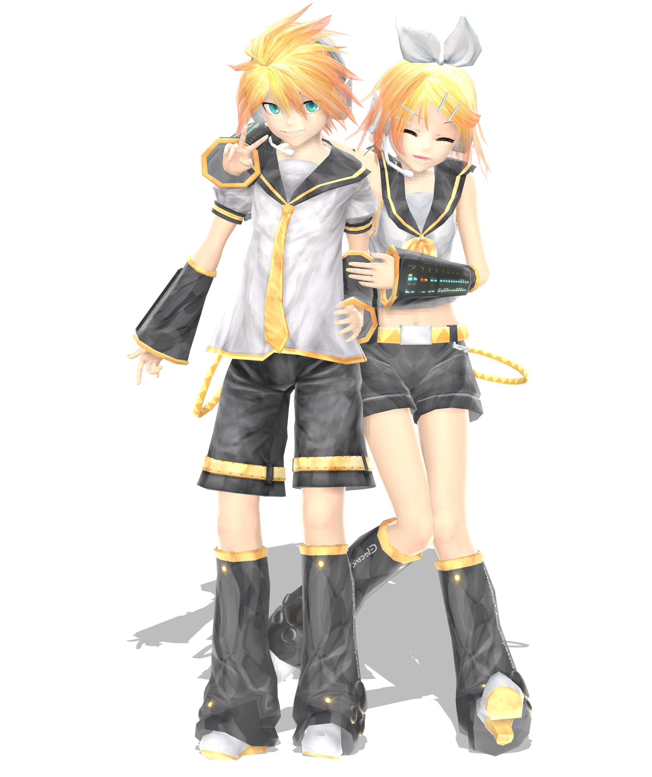 .: DL Series :. Ginjinshi Kagamine Twins by Duekko