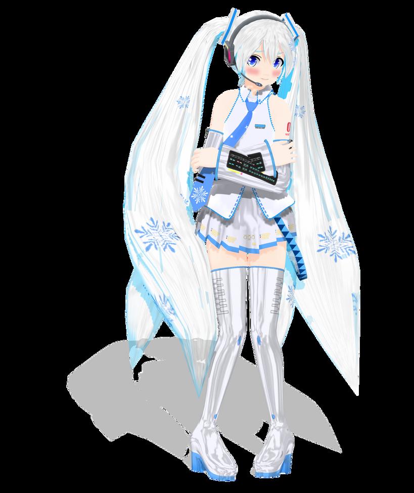 .: DL Series :. Dondon Snow Miku Hatsune by Duekko