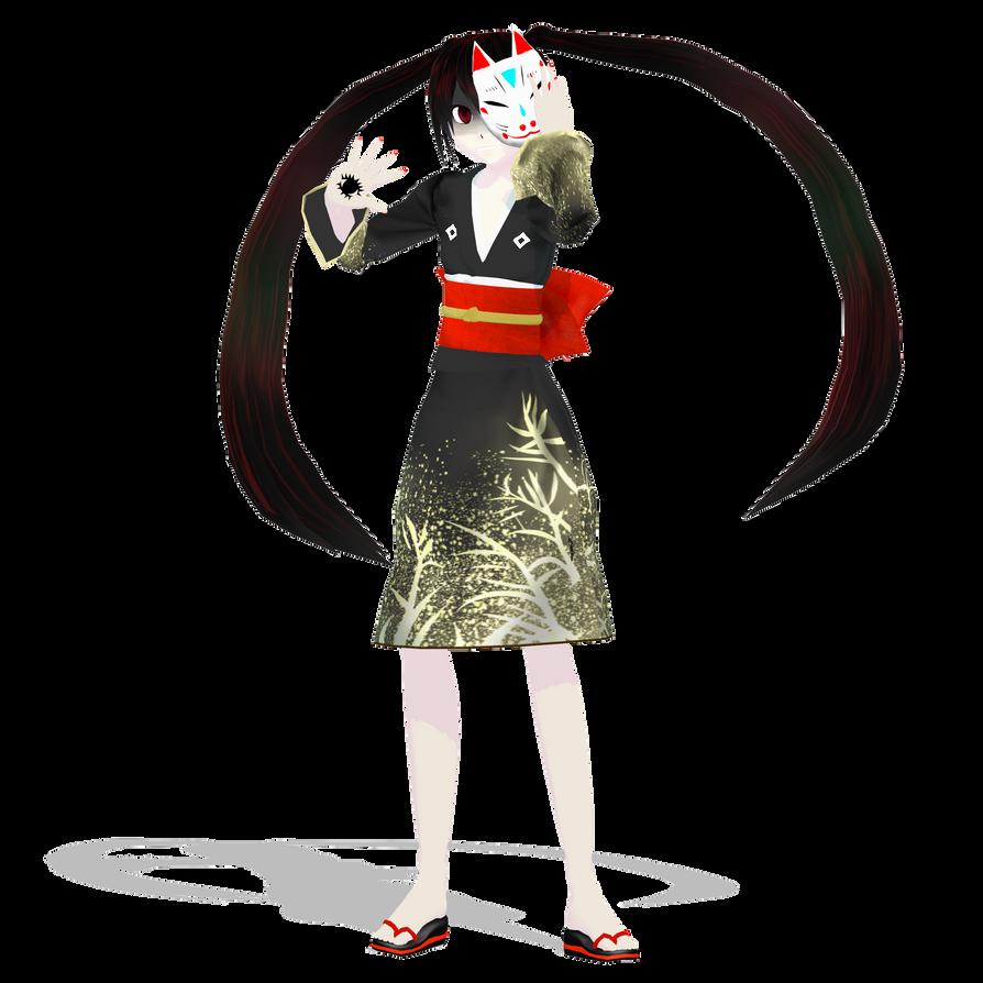 .: DL Series :. MHRTM Miku Hatsune by Duekko
