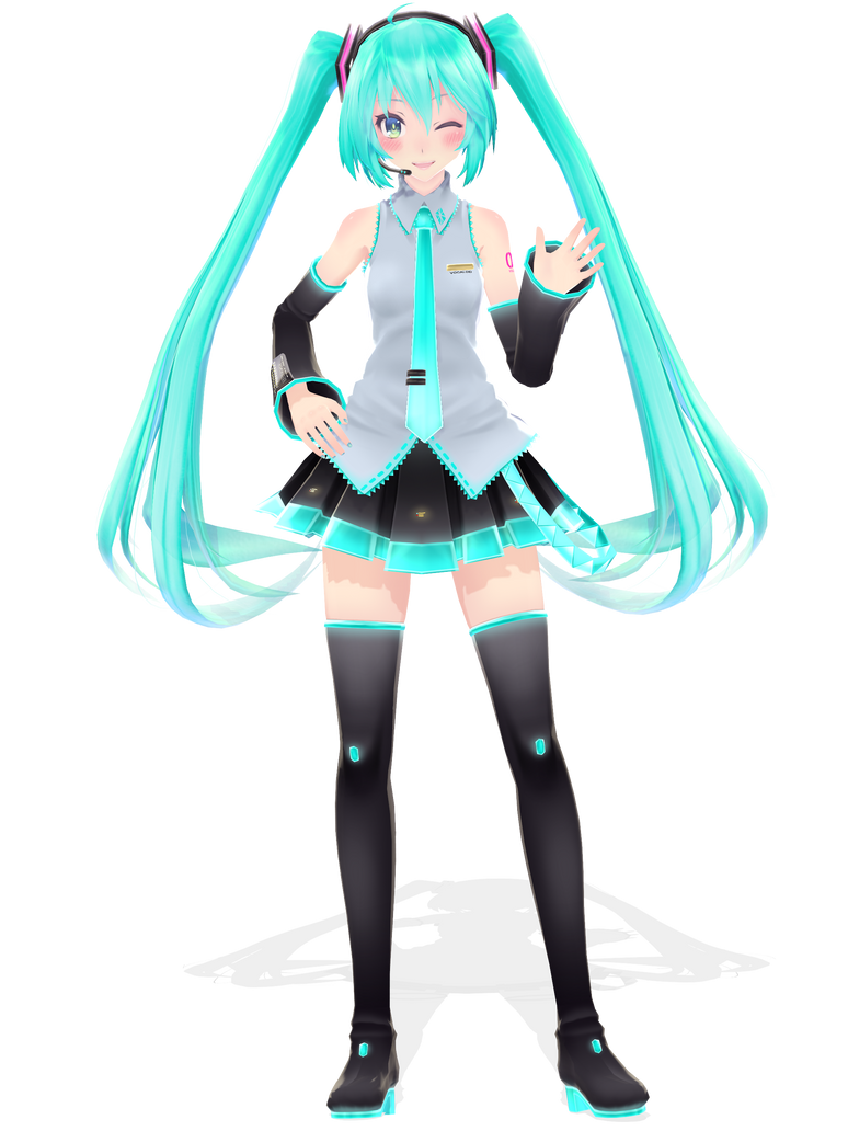 .: DL Series :. TDA Default Miku Hatsune by Duekko