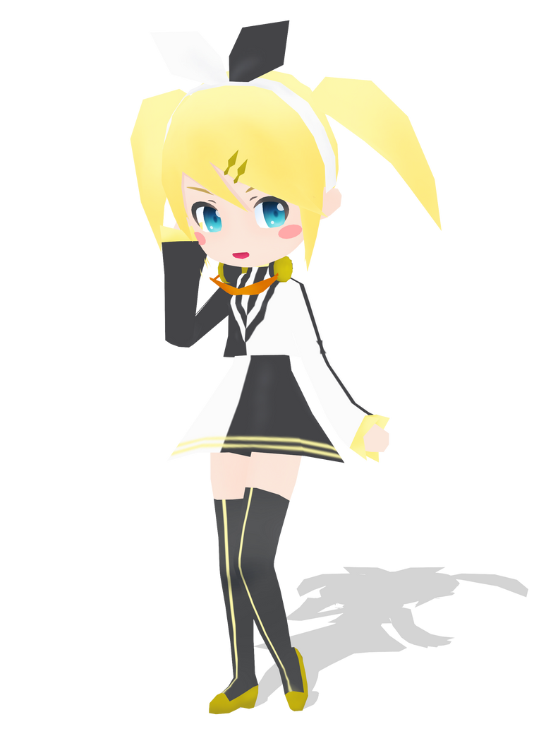 .: DL Series :. Nano Reactor Rin Kagamine by Duekko