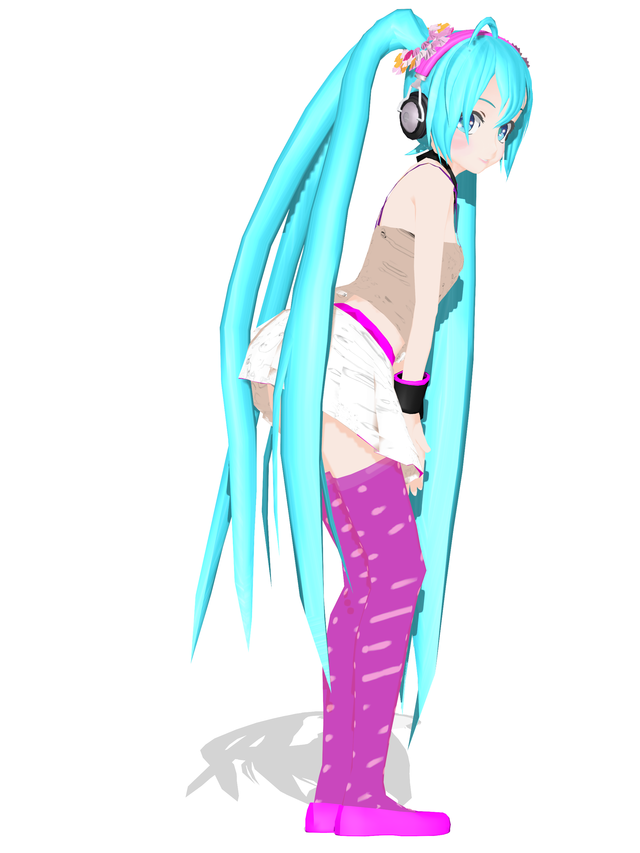 .: DL Series :. ReDial Miku Hatsune by Duekko