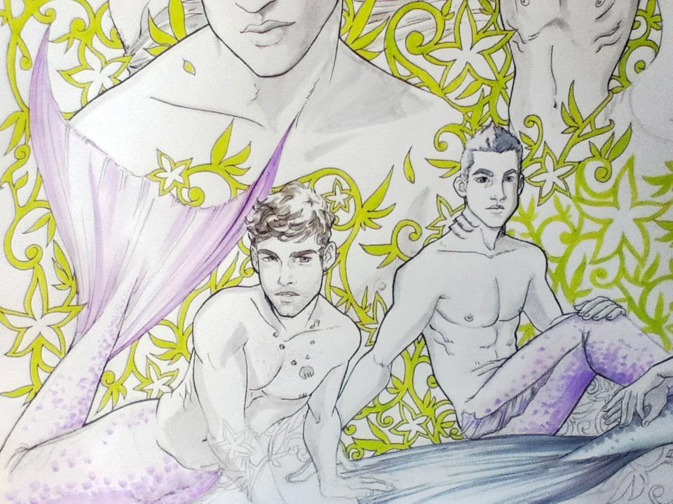 Arabesque Serie Detail by ArtByFab