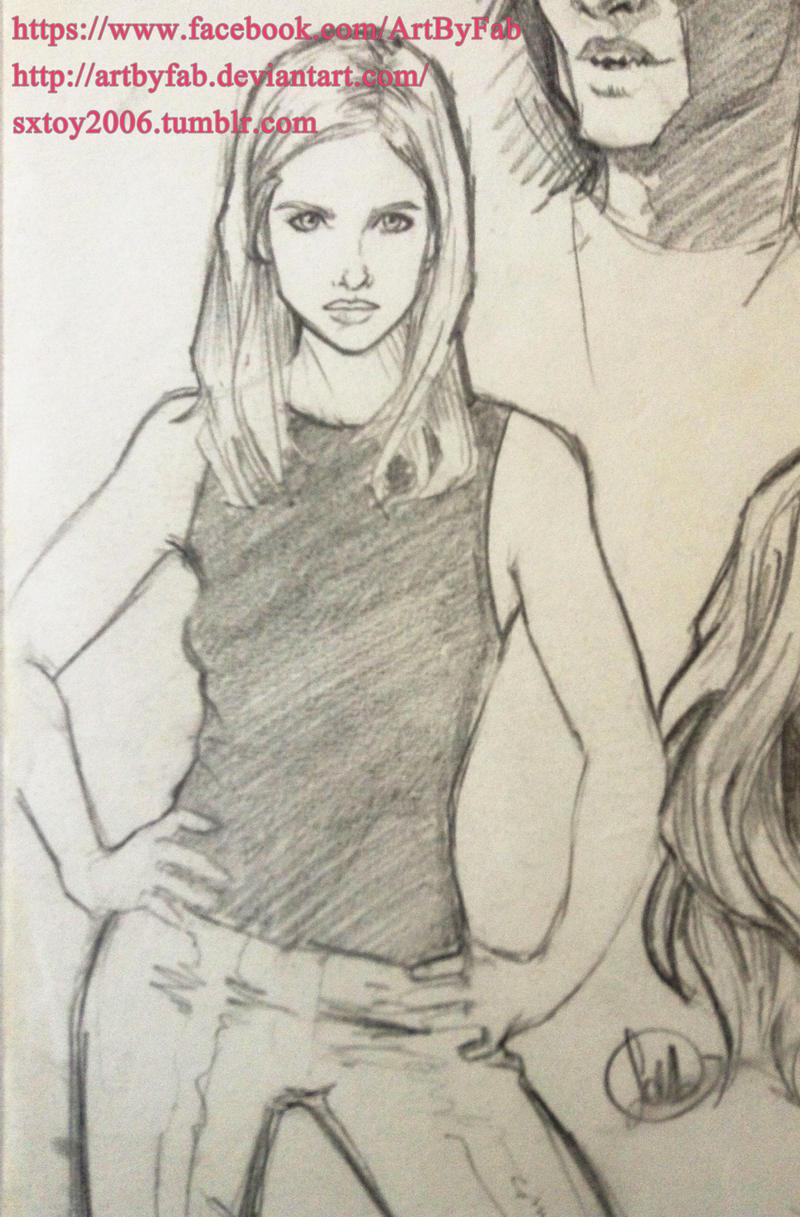 Buffy by ArtByFab