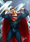 Superman portrait commission