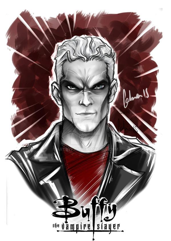 Spike Vampire by ArtByFab