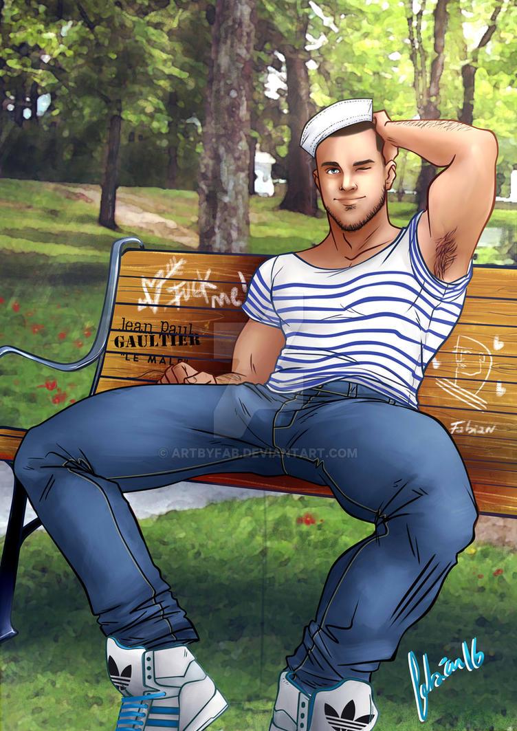 park boy sailor by ArtByFab
